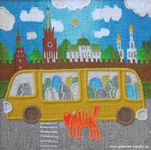 Excursion. Gobelin tapestries for kids room
