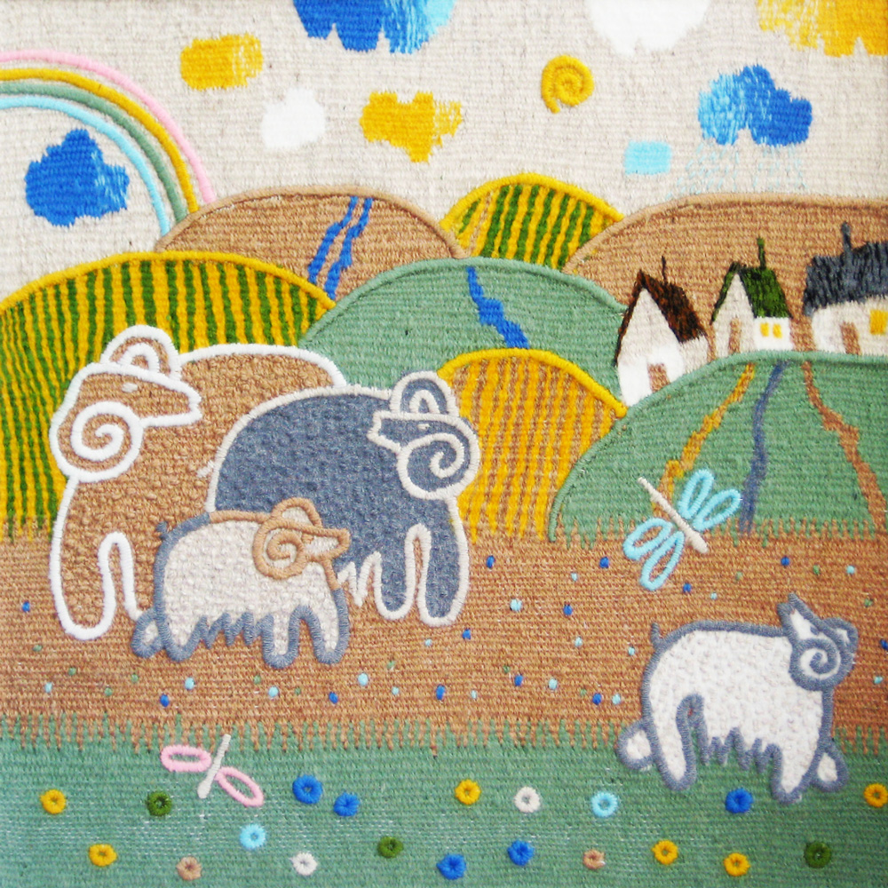 After the rain. Gobelin tapestries for kids room