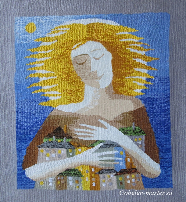 Guardian Angel. Gobelin tapestries for home or office