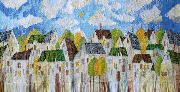 Before the storm. Gobelin tapestries for home or office