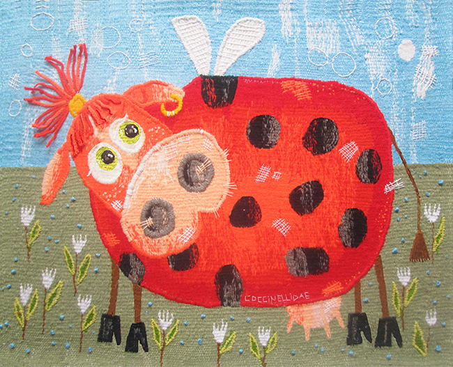 Ladybug. Gobelin tapestries for home or office