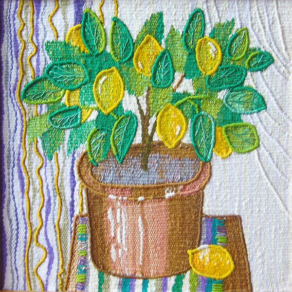 Lemon tree. Gobelin tapestries for home or office