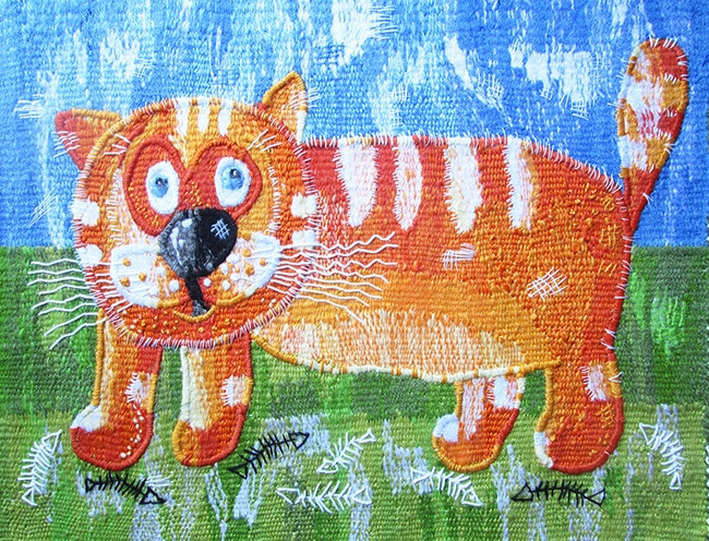 Arrival of the Red Cat. Gobelin tapestries for home or office