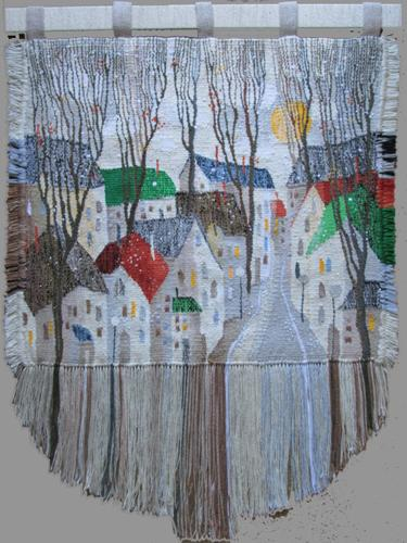 First snow. Gobelin tapestries for home or office