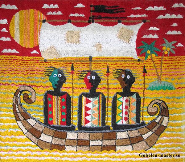 Yellow river warriors. Unweaved tapestry